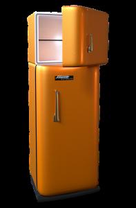 Retro koelkast