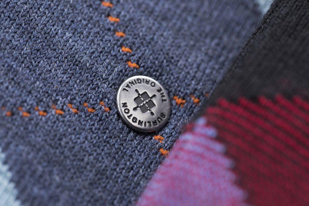 De bekende Burlington-button