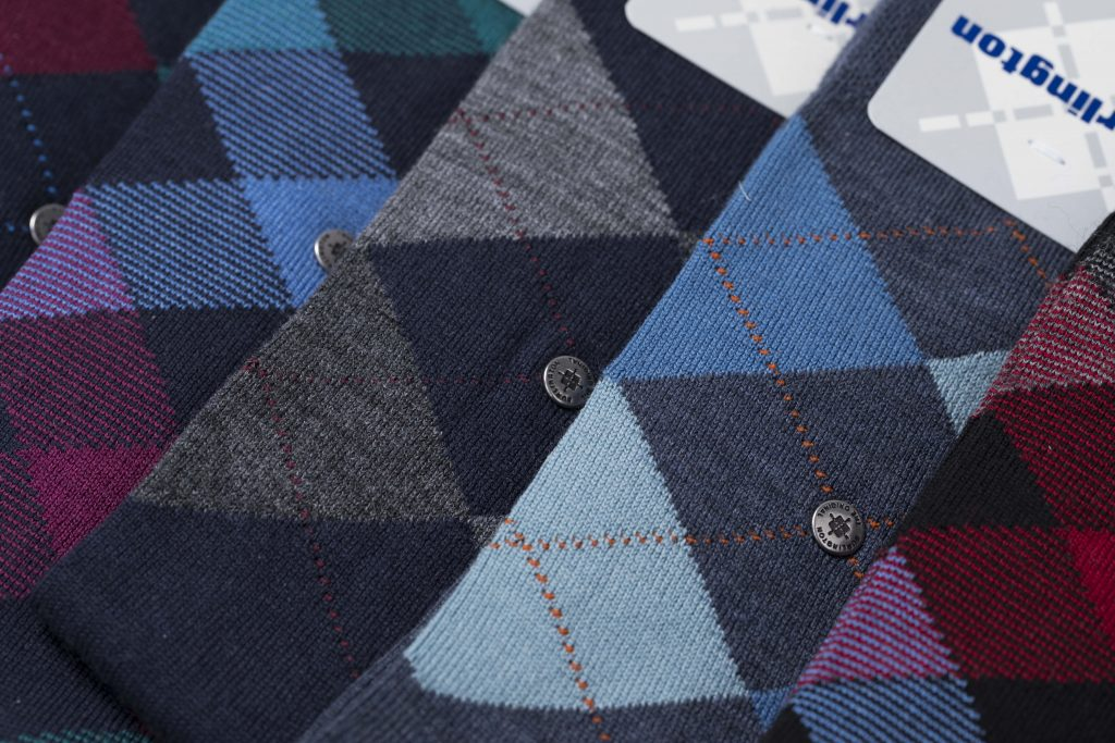 Schotse Burlington sokken