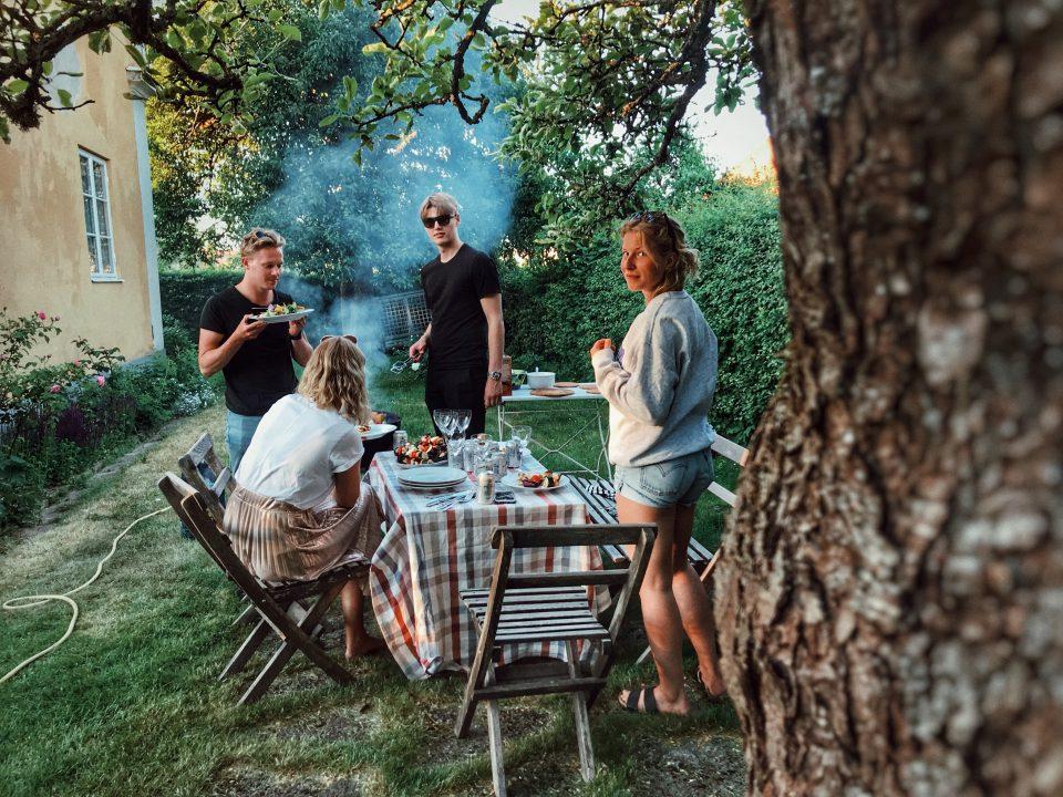 Groepsbarbecue