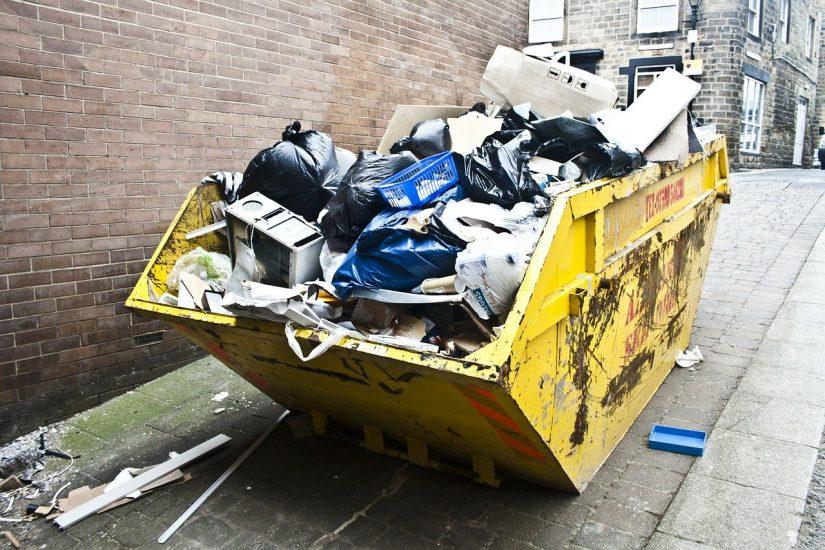 Afvalcontainer huren: hoe werkt dat?