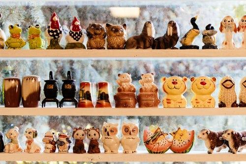 houten winkeltje