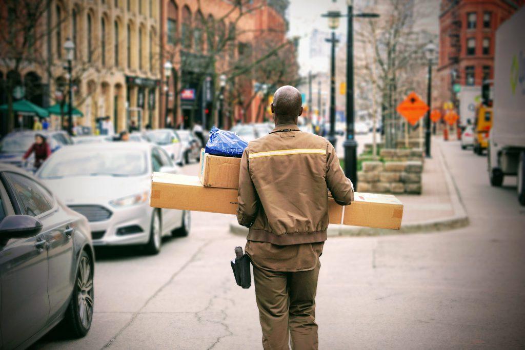 pakket verzenden