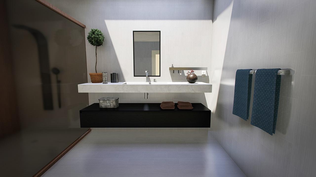 Een moderne badkamer bouwen doe je zo
