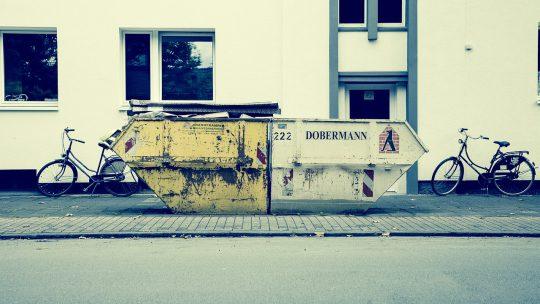Je huis renoveren, alleen waar laat je al het afval?