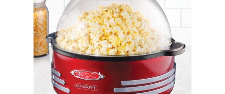 Maak de blits met een popcorn machine