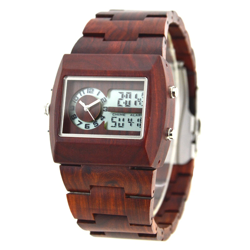 Het houten horloge voor heren, Persoonlijk en origineel cadeau