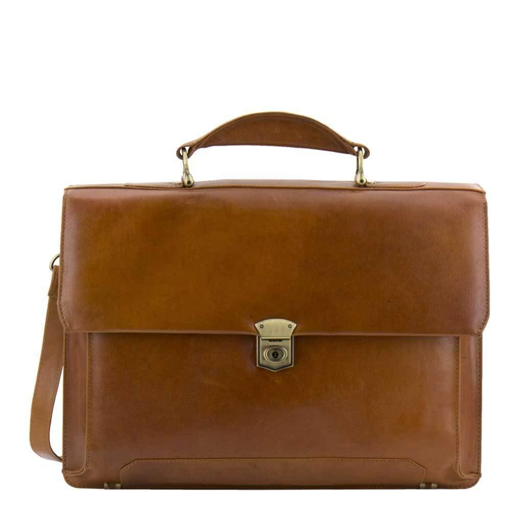 Een leren laptoptas, daar ga je plezier van hebben!