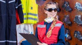 Vakvrouwen met goede werkschoenen